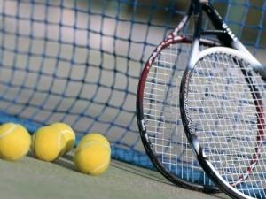 binnen tennislessen