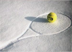 Tennis winter
