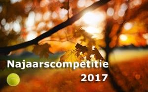 Najaarscompetitie 2017