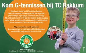 Flyer G-tennis