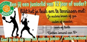Junior senior toernooi