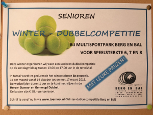 Winter dubbelcompetitie TVC